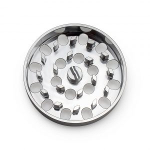 The Brilliant Cut Grinder - Coarse Plate - Silver
