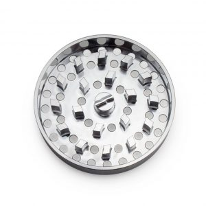 The Brilliant Cut Grinder - Fine Plate - Silver