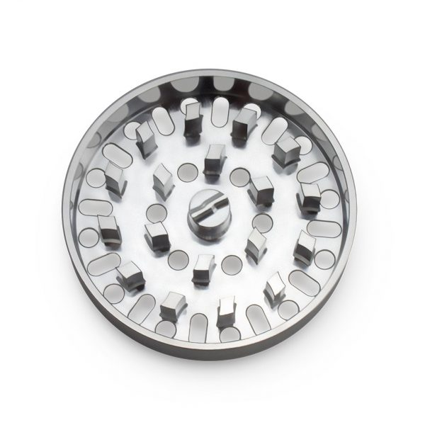 The Brilliant Cut Grinder - Medium Plate - Silver